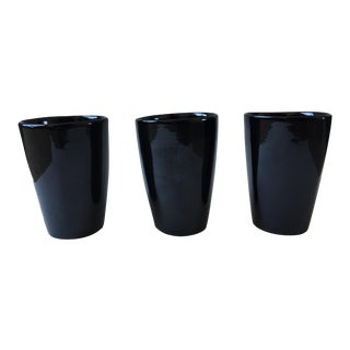 Vintage Frankoma Pottery Tumblers - Set of 3