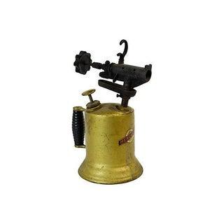 Vintage Industrial Brass Artist Torch