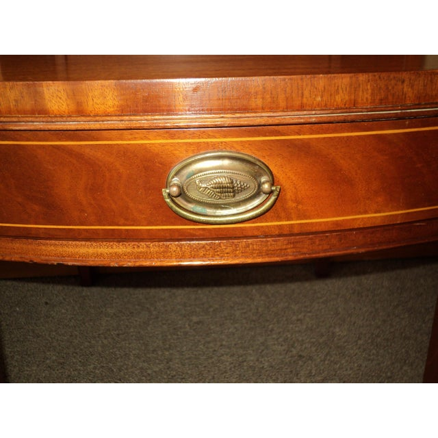 Antique Federal Style Mahogany Nightstands - A Pair - Image 8 of 8