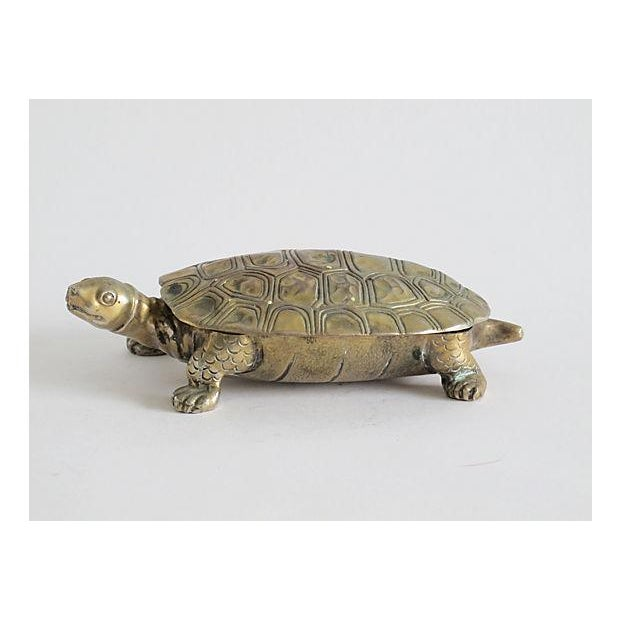 Image of Silverplated Turtle Box