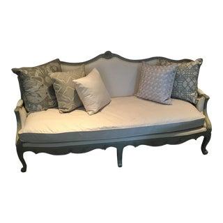 Upholstered Wood Framed Sofa