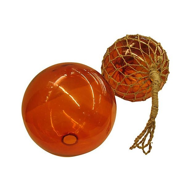 Large Glass Fishing Floats - Image 4 of 4