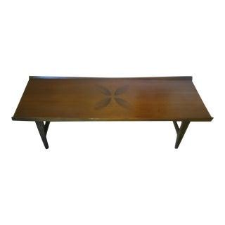 Lane Mid-Century Modern Rosewood Coffee Table