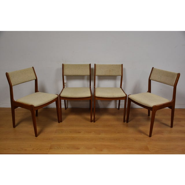 Teak Dining Chairs - Set of 4 - Image 2 of 11