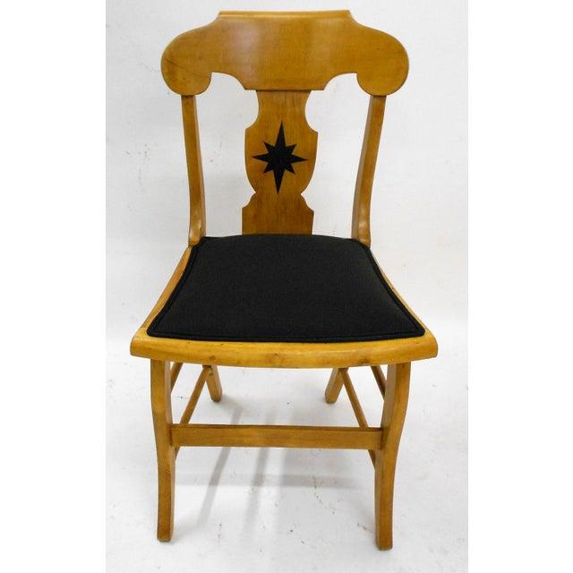 1920s Biedermeier Style Desk Chair - Image 3 of 7