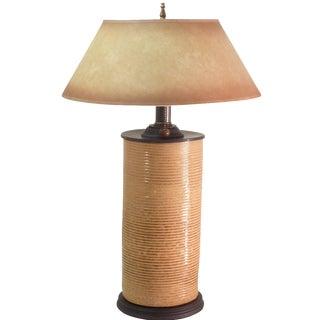 Handmade Stoneware Lamp