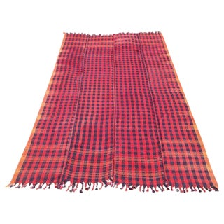 Vintage Hand Made Throw Blanket
