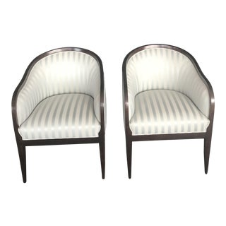 Holly Hunt Studio H Tub Chairs - A Pair