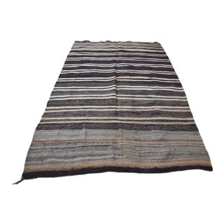 "Vintage Turkish Stripe Rug -- 5'7"" x 9'5"""