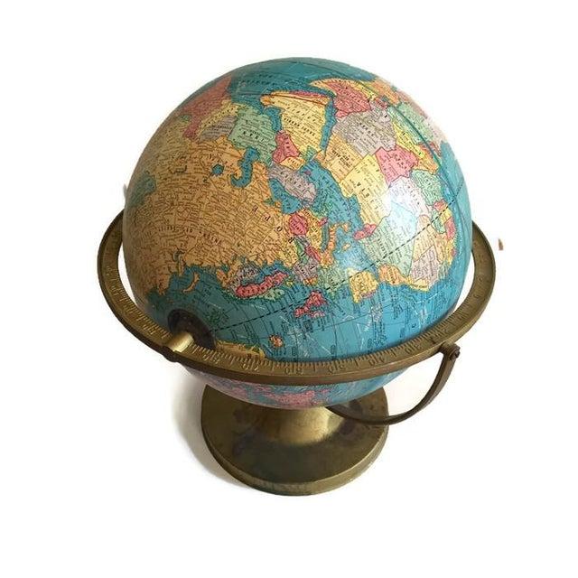 Mid Century Cram's Tilting Axis Globe - Image 6 of 6