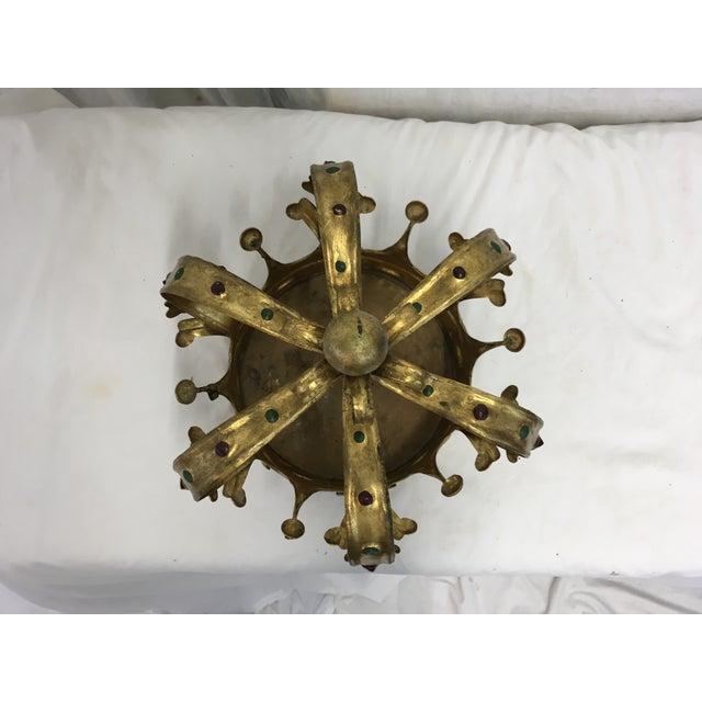 Florentine Gilt Metal Crown - Image 6 of 7