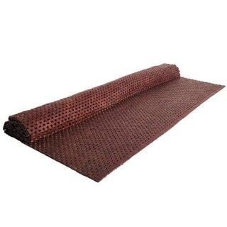 """Polished Hardwood Woven Rug -- 5'10"""" x 9'3"""""""