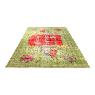 "Bellwether Rugs Vintage Turkish Distressed Zeki Muren Rug - 6'10""x10'2"