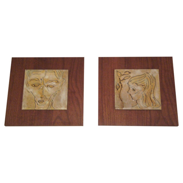 1950's Art Tiles by Harris B. Strong - Image 1 of 8