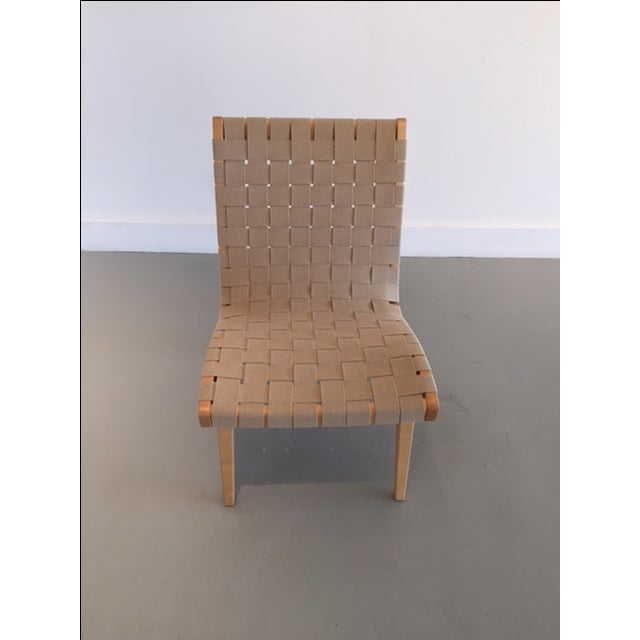 Original And Signed Jens Risom Lounge Chair - Image 9 of 9