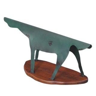 Sarreid Ltd. Iron & Wood Shoescraper Setter