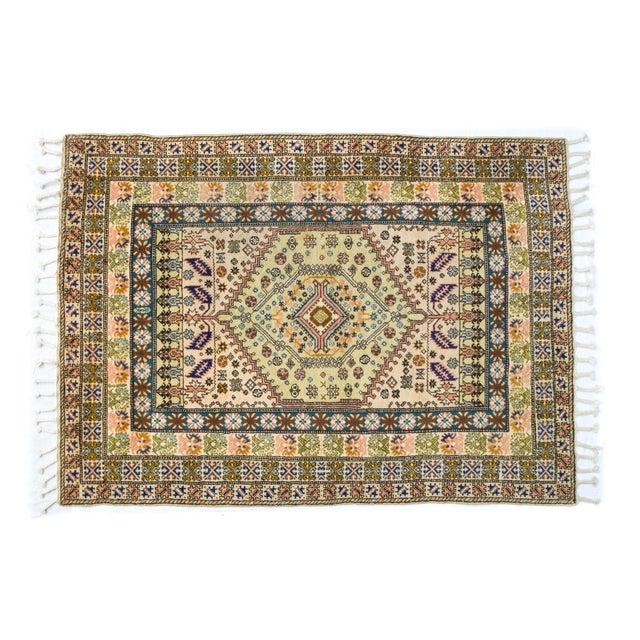 """Image of Vintage Moroccan Rug 'Amina' - 4'9""""x6'8"""""""