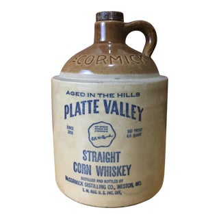 Vintage McCormick Platte Valley Whiskey Jug