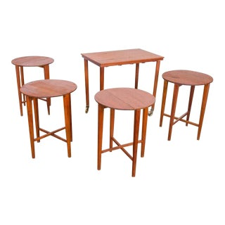 Early 1950s Scandinavian Nesting Tables