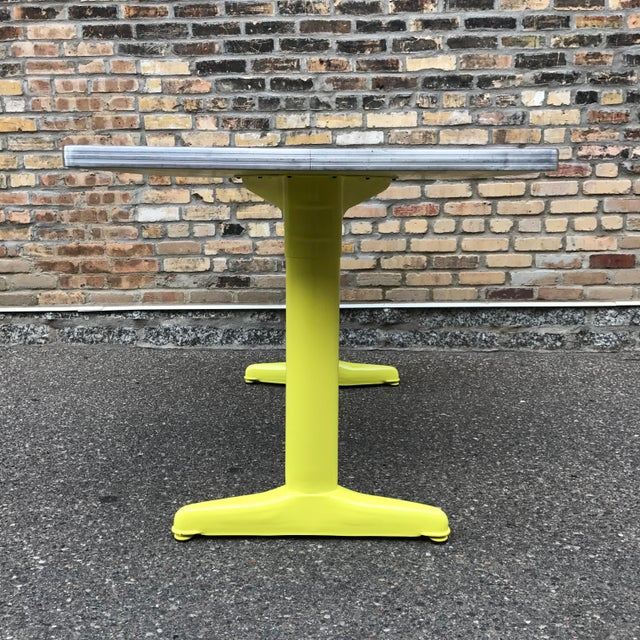 Vintage Industrial American Seating Co. Dining Table - Image 4 of 11