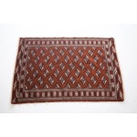 "Image of Burnt Orange Turkish Rug - 3' 5"" x 5'"