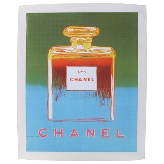 Andy Warhol Vintage Chanel Poster