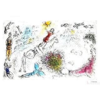 "Marc Chagall ""l'Ame Du Cirque"" 1981 Poster"