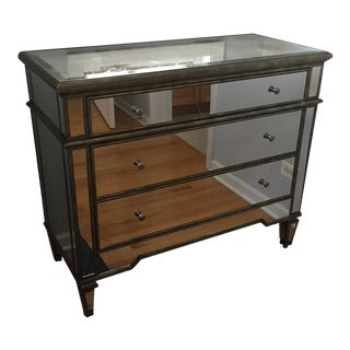 Mirrored Chest With Drawers Hollywood Regency Style
