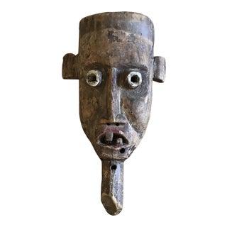 Primitive Vintage Folk Art Mask
