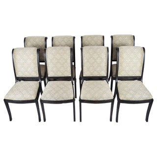 Set of Eight Fremarc Embassy Dining Chairs