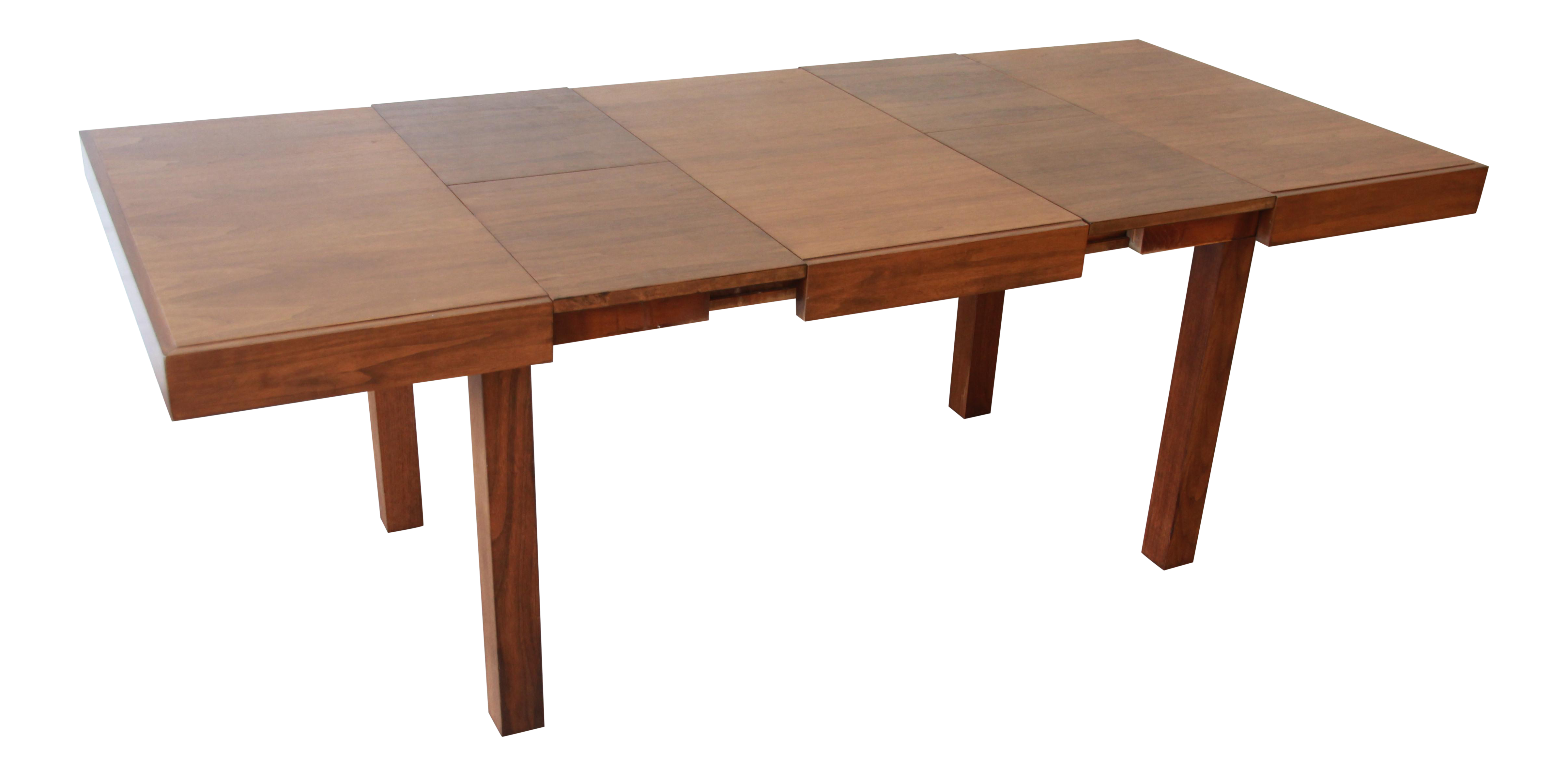 Early George Nelson for Herman Miller Walnut Extension Dining