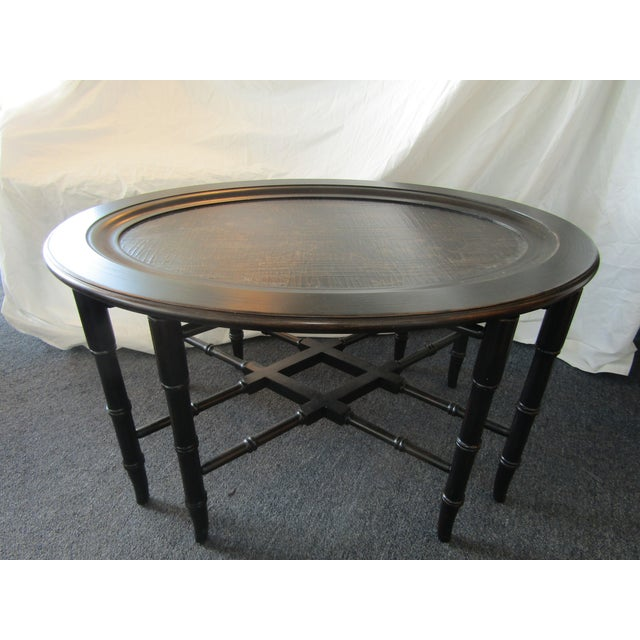 Traditional Coffee Tables Ethan Allen: Ethan Allen Mirabelle Chinoiserie Coffee Table