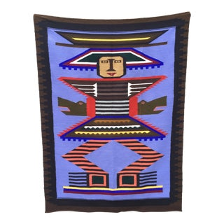 Tribal Woven Wool Wall Hanging