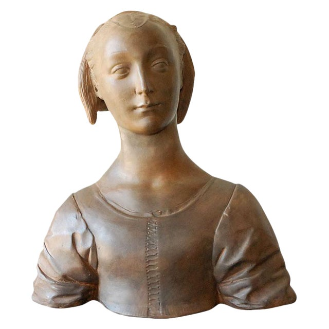 Renaissance Style Italian Bust of a Woman #2 - Image 1 of 8
