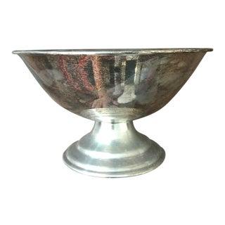 Antique Sterling Silver Pedestal Bowl