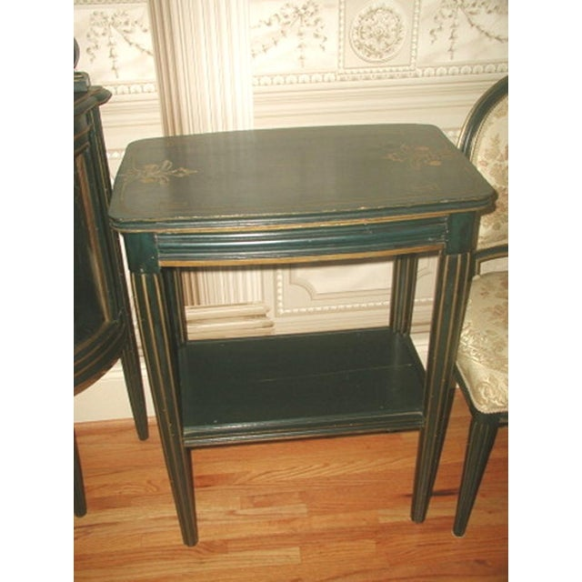 Rectangular 18th Century Italy Parlor Side Table - Image 2 of 4