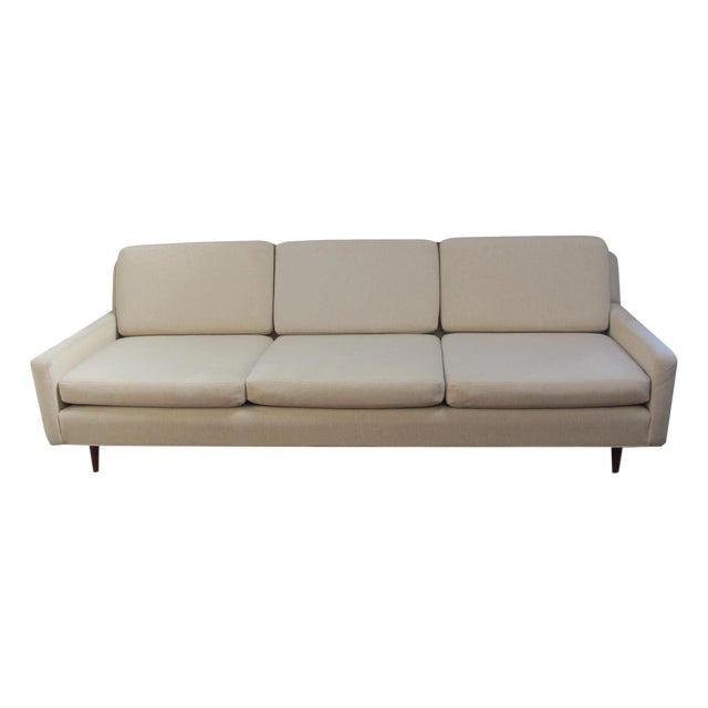 Mid-Century Modern Edward Wormley Style Sofa - Image 1 of 10