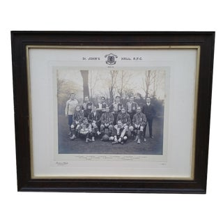 Antique Soccer Team Photograph