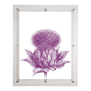 Mitchell Black Home Purple Artichoke Art