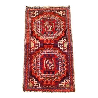 Vintage Turkish Oushak Rug - 1′11″ × 3′5″