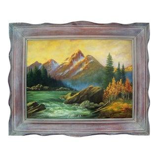 California Plein Air Mountain Landscape Painting