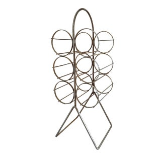 6 Bottle Minimalist Wine Rack