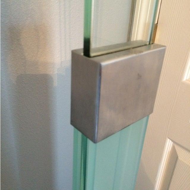 Vintage High End Glass Chrome Valet - Image 6 of 7