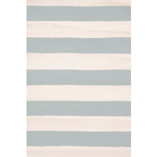 Striped Indoor/Outdoor Area Rug - 5′9″ × 9′5″