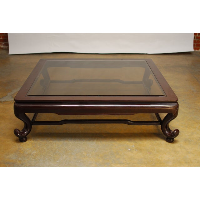 Chinese Kang Style Coffee Table - Image 4 of 6
