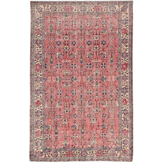 "Vintage Turkish Overdyed Rug - 5'10"" x 8'11"""
