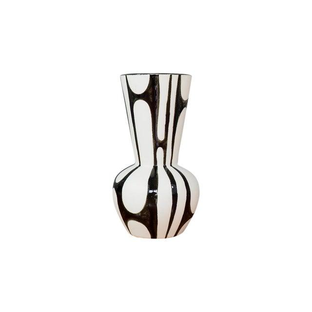 Image of Mid Century Modern Japanese Pottery Vase