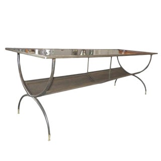 French Art Deco Long Coffee Table