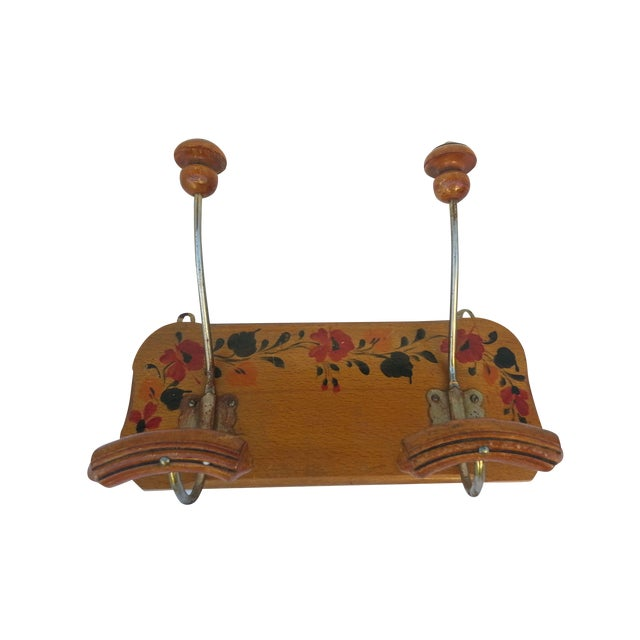 Image of Antique French Floral Hooks