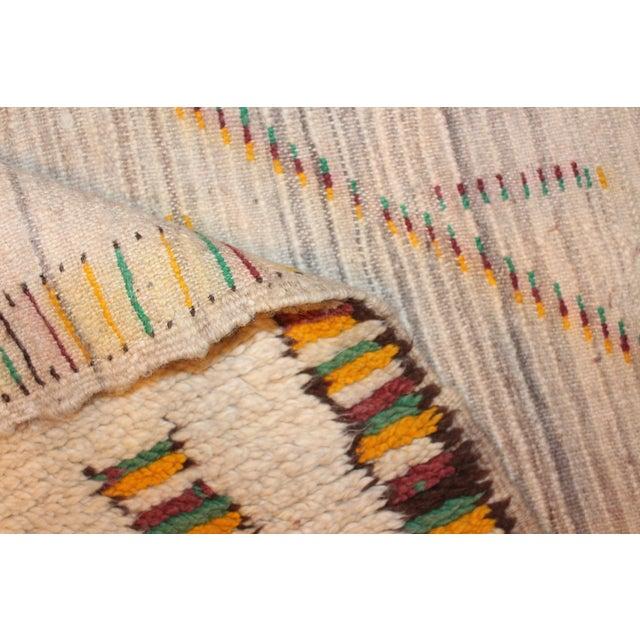 Image of Vintage Azilal Moroccan Berber Rug- 4′7″ × 8′